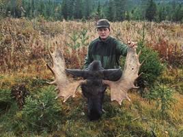 John Svendsberget, Elverum, sköt en fin 18-taggare på lock, vikten var tunga 306 kg.