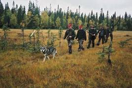 Även om myrmarkerna kunde vara sugande tunga att gå i var det aldrig några orimligt långa marscher för passkyttarna. För hundförarna var situationen naturligtvis annorlunda.