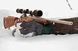 Sakos 6 ppc är en tung pjäs att bära på, men underbart stabil när man lägger sig ner för att skjuta.