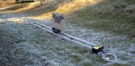 En avancerad viltmålbana för skytte på 20 meter behöver inte kosta enförmögenhet.