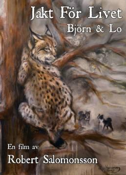 Konstnären och jägaren My Hansson har gjort dvd-omslaget