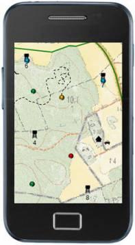 Jaktkartan finns som mobilapp till din smartphone.