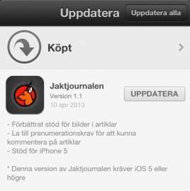 Ladda ner uppdateringen!