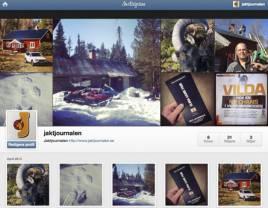 På Instagram får ni följa Jaktjournalens medarbetare både på jobb och på egna jakter.