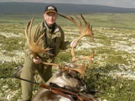 Torbjörn Lindskog på en av sina mest minnesvärds jakter, vildsrensjakt i Norge. Foto: Norma