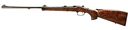 Blaser Single Shot Rifle K 95 ett specialvapen för rörlig jakt i svår terräng.