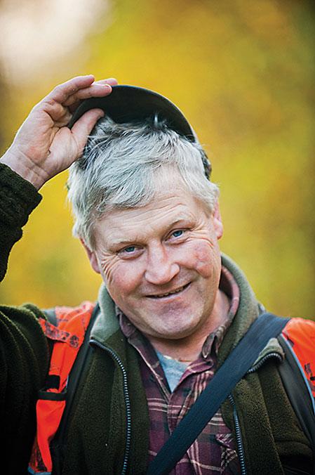 Mats Björn, Torsby, är ägare och uppfödare till Kiwi