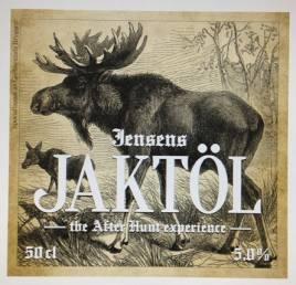 Jensens Jaktöl kommer att säljas med sex olika etiketter, med motiv från Nordiska gamla bilder på vilten, älg, gräsand, björn, kronhjort, tjäder och vildsvin.