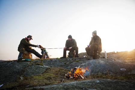 Harjakt bland Bohusläns karga klippor