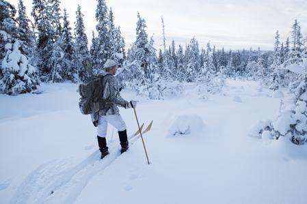 Toppjakt på tjäder handlar till stor del om att hitta rätt område. Lars Lindgren vet var han ska leta.
