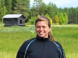 Malin Karlsson, en värdig stipendiat. Foto: Peter Jonsson.