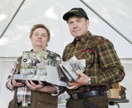 Mikael Jägare och Thomas Ekberg fortsätter att utveckla tjänsterna på sin hemsida.  Foto: Per Jonson