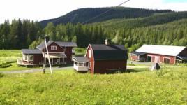 Nynäs Jakt & Fiskecamp ligger cirka tre mil sydost om Borgafjäll i Västerbotten.
