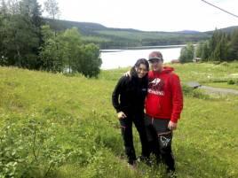 Robert Salomonsson och sambon Nathalie Jonsson heter de nya ägarna av campen där de också kommer att bosätta sig.