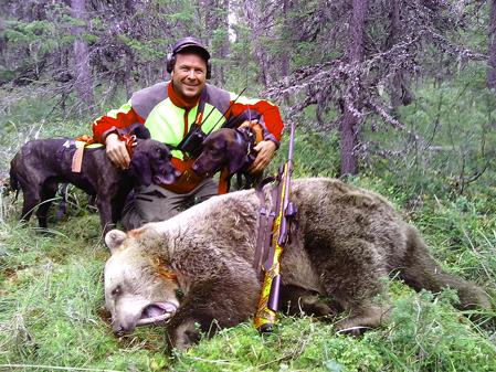 Anders Bodin är välplanerad och ser fram emot 7 veckors semester och björnjakt.