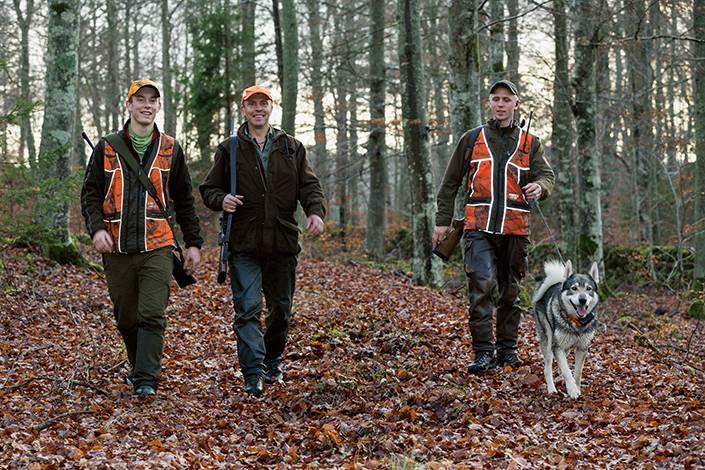 Inga sura miner hos hundförarna Robin Leandersson, Skottorp, Kalle Gunnarsson, Hishult och Freddy Gunnarsson, Hishult, trots en tom andra såt.