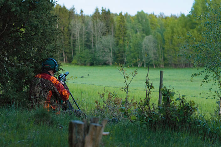 Förberedelser och att känna sina marker väl ökar chanserna till skott.