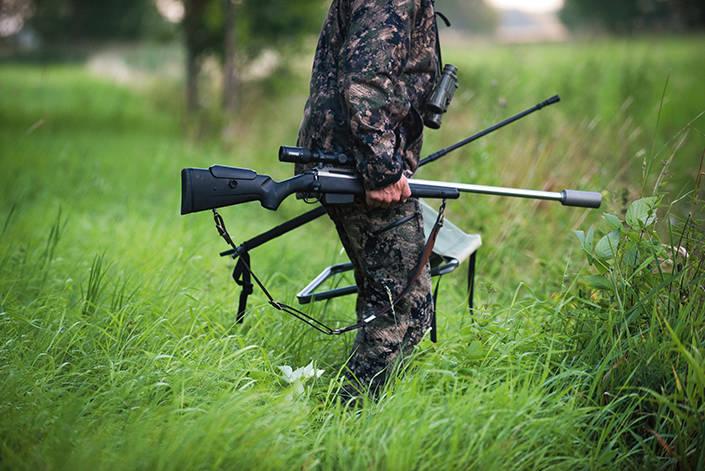 Joakim Welander har bytt från fast pass till rörlig jakt.