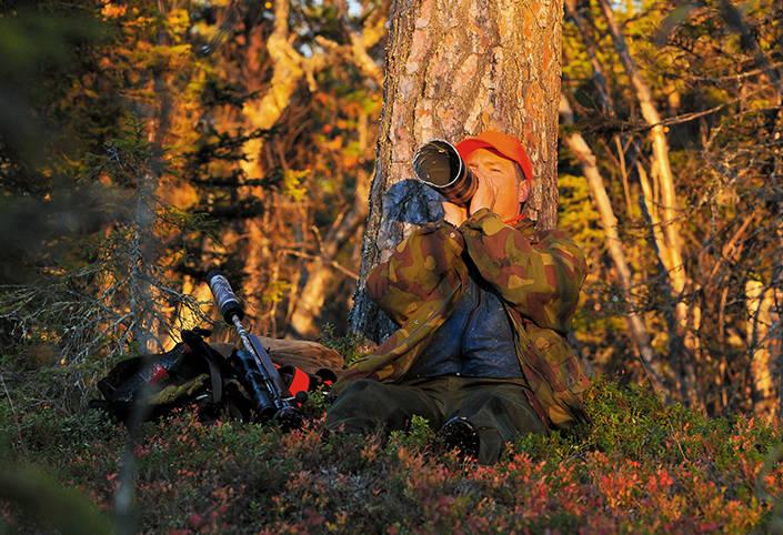 Lär dig din jaktmark, leta brunstgropar och börja locka. Jägaren har intagit sin plats och jakten kan börja.