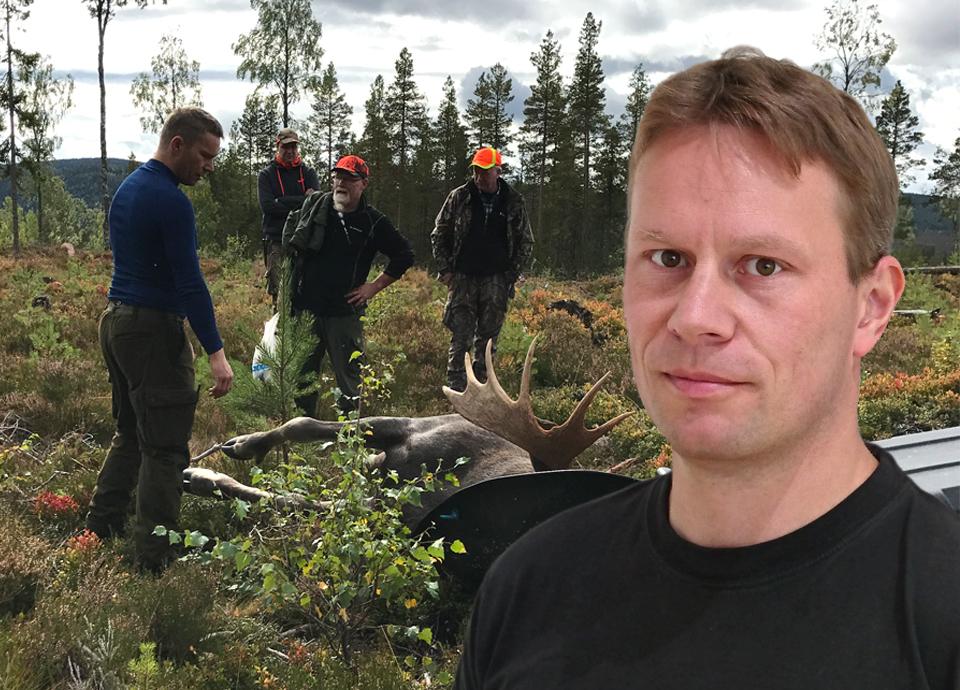Man illa skadad vid skogsarbete