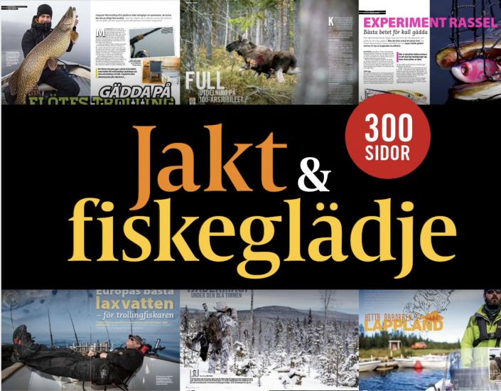 51 jakt- och fiskereportage från hela landet och från alla årstider över 300 sidor. Trevlig läsning!